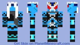 Kamen Rider Fuma Shinobi Minecraft Skin