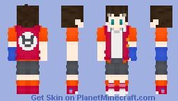 Cruv's request : Aiger Akabane [Beyblade Burst Turbo] Minecraft Skin