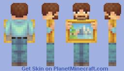 ᵃⁿᵈ ᵍᵒᵈ ᵇˡᵉˢˢ ᵐʸ ᶠʳᶦᵉⁿᵈˢ Minecraft Skin