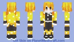 Zenitsu Agatsuma Minecraft Skin