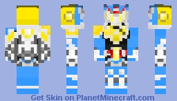 Kamen Rider Duke Lemon Energy Arms Minecraft Skin