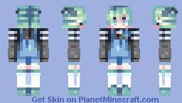 dream > alien boy Minecraft Skin