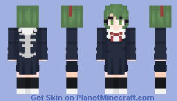 Monaca - Danganronpa Minecraft Skin
