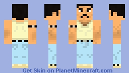 Freddie Mercury (Live Aid) Minecraft Skin