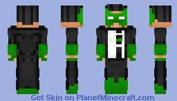 Kyle Rayner - Green Lantern Minecraft Skin