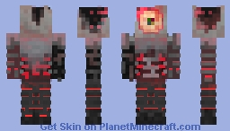 The Alien survivor Minecraft Skin