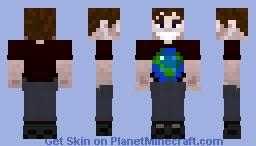 R_Ryan PMC Globe Shirt Minecraft Skin