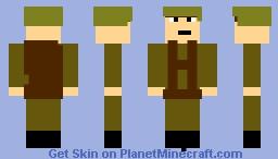 WWII Paratrooper Minecraft Skin