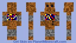 Rusty Robot Minecraft Skin