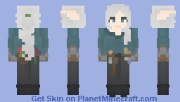 High Elven Botanist (DO NOT USE ON LOTC) Minecraft Skin
