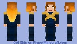 Jean Grey - Dark Phoenix Minecraft Skin