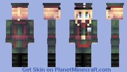 Saga of Tanya the Evil Minecraft Skin
