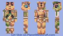 Scrap Rabbit Minecraft Skin