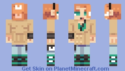 Sonia [Pokémon Sword/Shield] Minecraft Skin