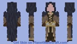Tan Robes Minecraft Skin