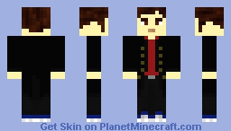 TheDarknessDr|12th Doctor - MC Dr. Who Adventure Serie 2 (Red T-shirt) Minecraft Skin
