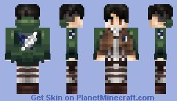 Attack on Titan Skin Minecraft Skin