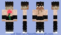 Rose hoodie w/ dreads (V.3) Minecraft Skin