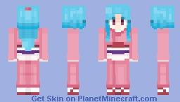 Botan Minecraft Skin
