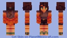 stick by your side [ oc; carmen ] Minecraft Skin