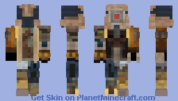 D0G (Half-Life 2) Minecraft Skin