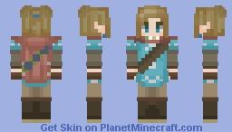 Breath of the wild sequel Link ~ Minecraft Skin