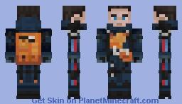 Sam - Death Stranding Minecraft Skin
