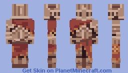 Dark Souls - Alva Minecraft Skin