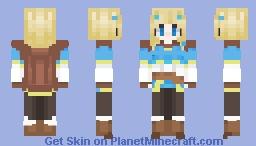 Breath Of The Wild 2 Zelda ~ Minecraft Skin