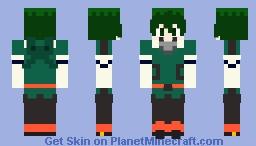 Izuku Midoriya Costume Gamma Minecraft Skin