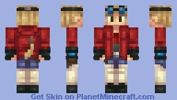 HeatBeat9505 (Commission) Minecraft Skin