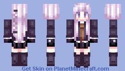 Kirigiri Kyoko - Danganronpa Minecraft Skin