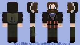 R. J. MacReady (Kurt Russell)  from John Carpenter's The Thing (1982) - Request Minecraft Skin
