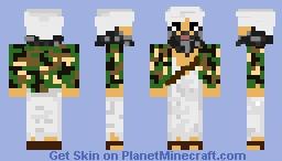 Ben Laden Minecraft Skin