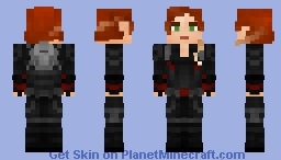 Black Widow - Endgame Minecraft Skin