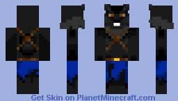 Black/Dark Gray Werewolf Geared Up