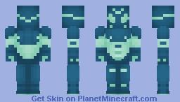 Sideways Minecraft Skin