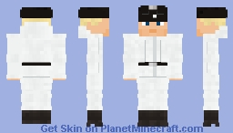 WW2 German Tank Crew(Winter) Minecraft Skin