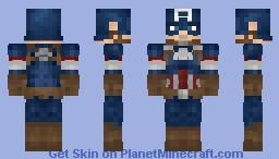 Captain America | MCU | Avengers Minecraft Skin