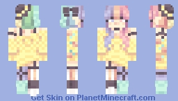 Plump Peaches Minecraft Skin