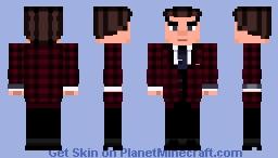 James Bond/Marvel Fusion - Agent 15 (Spider-Sona) Minecraft Skin