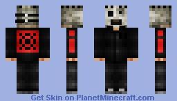 Slipknot ALL HOPE IS GONE Sulfur #8 Corey Taylor Minecraft Skin