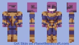 All Thanos Minecraft Skin