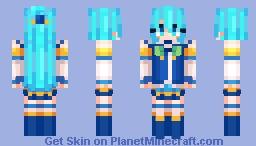 Aqua-Konosuba Minecraft Skin