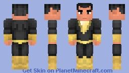 Black Adam Minecraft Skin