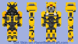 Bumblebee Camero form Bumblebee movie! Minecraft Skin