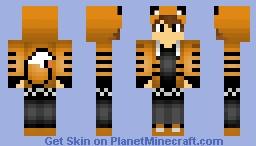Tiger Boy Minecraft Skin