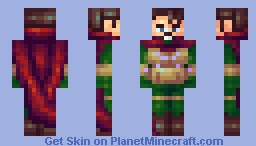 far from home - mysterio Minecraft Skin