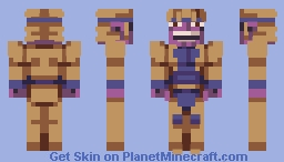 You were expecting another THANOS skin, but it was me, DIO! Minecraft Skin