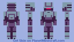 MK-00 S3CUR Minecraft Skin